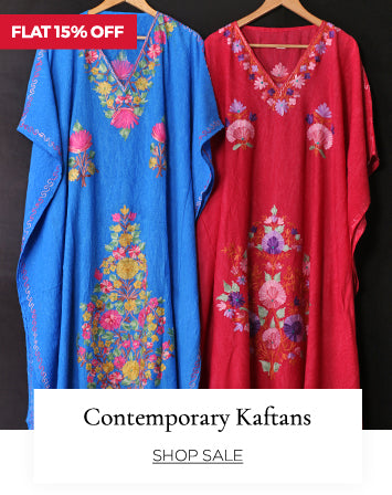 modish kaftans at flat 15% off