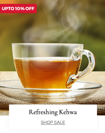 Traditional kehwa drink from kashmir at upto 10% off