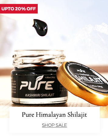 Pure Himalayan shilajit at upto 20% off