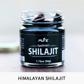 Pure himalayan Shilajit sourced directly from Ladakh