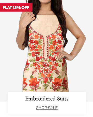 summer suits crafted in kashmiri embroideries