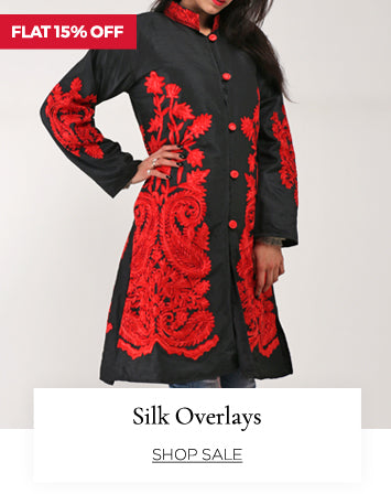 Overlays to make you look stylish in silk