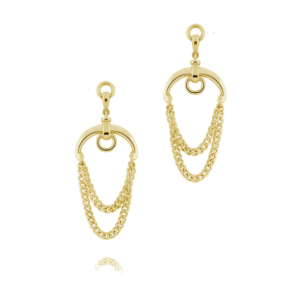 Gold Chain Beitris Earrings