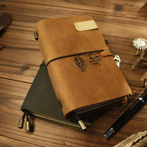 Vintage Leather Bound Notebook