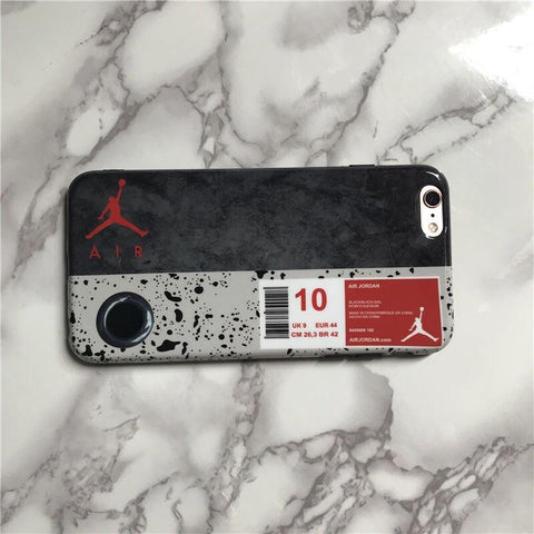 Cement Air Jordan iPhone Case - AZOODEAL