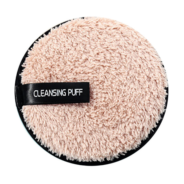 Cleansing Puff Microfiber Makeup Remover