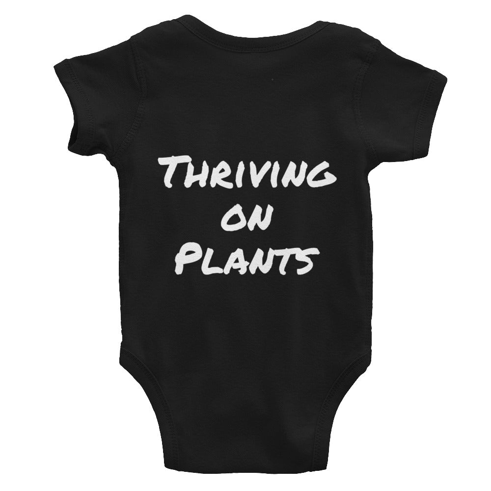 Thriving On Plants Infant Bodysuit