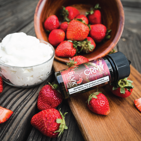 E-Liquid CRMY STRAWBERRY | BLVK