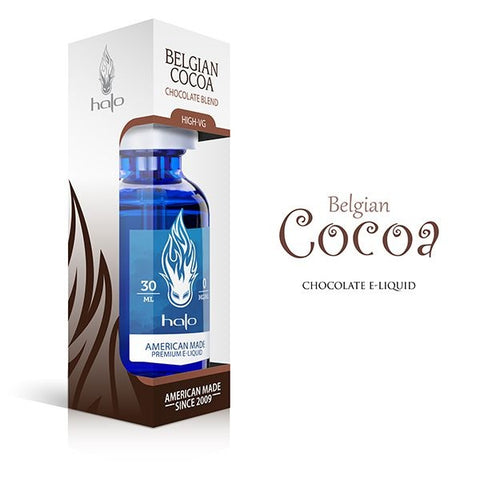 E-Liquid High-Vg Belgian Cocoa | Halo