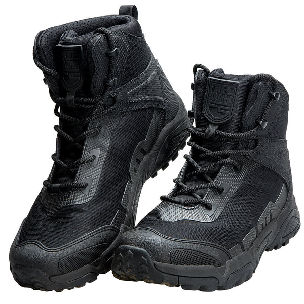 "FREE SOLDIER Men's Tactical Boots 6"" inch Lightweight Combat Boots"