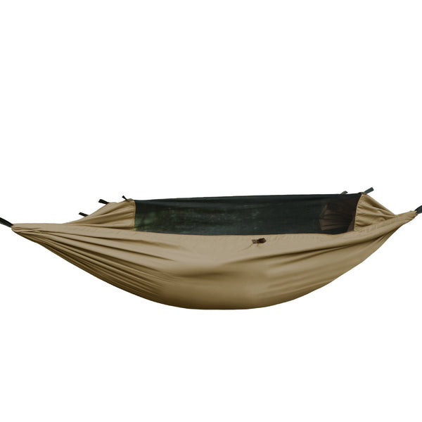 FREE SOLDIER Waterproof Camping Hammock with Mosquito Net Lightweight Tarp Hammock for Backpacking Traveling Hammock