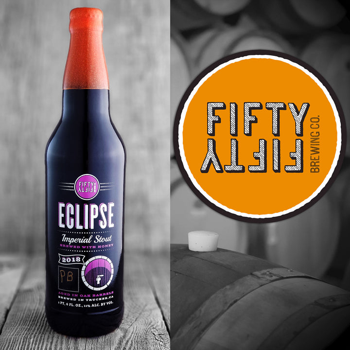 Fifty Fifty Eclipse Peach Brandy 2018