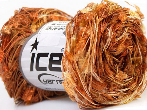 Butterfly Yarn (Single Skein 150m) - Brown Shades Copper