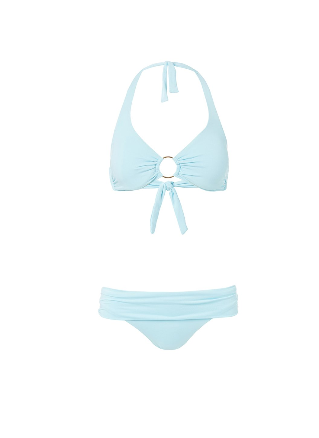 brussels sky halterneck ring supportive bikini 2019
