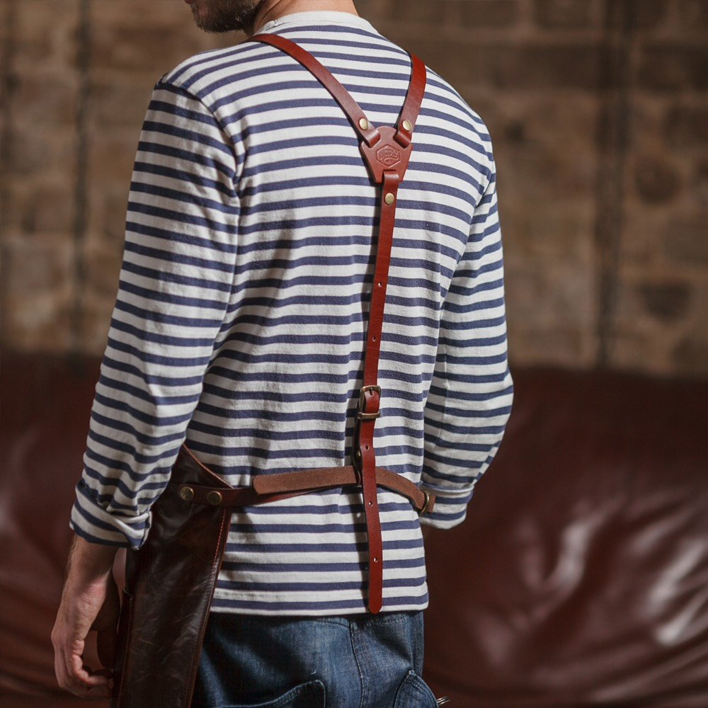 Havie Barber Leather Apron / סינר ספרים