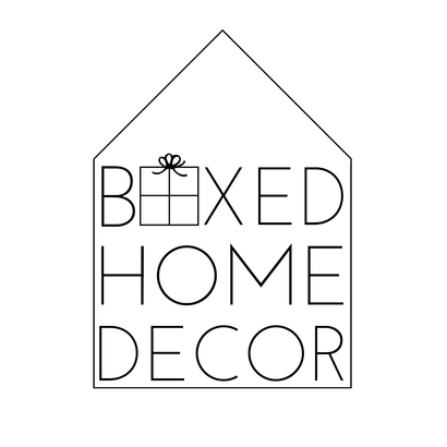 Boxed Home Decor