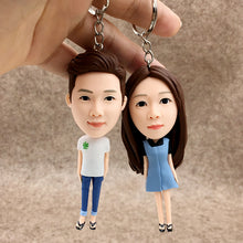 Custom Personalized Bobbleheads Keychains