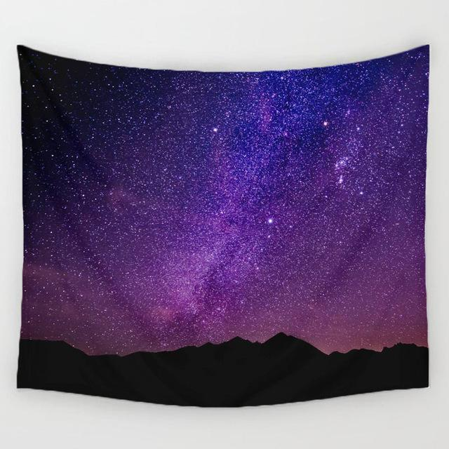 Tapestry - Starry Beautiful Night Tapestry