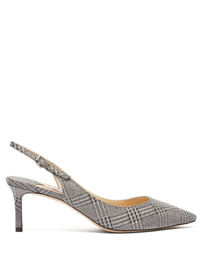 Erin 60 glitter check pumps