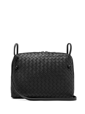 Nodini Intrecciato leather cross-body bag