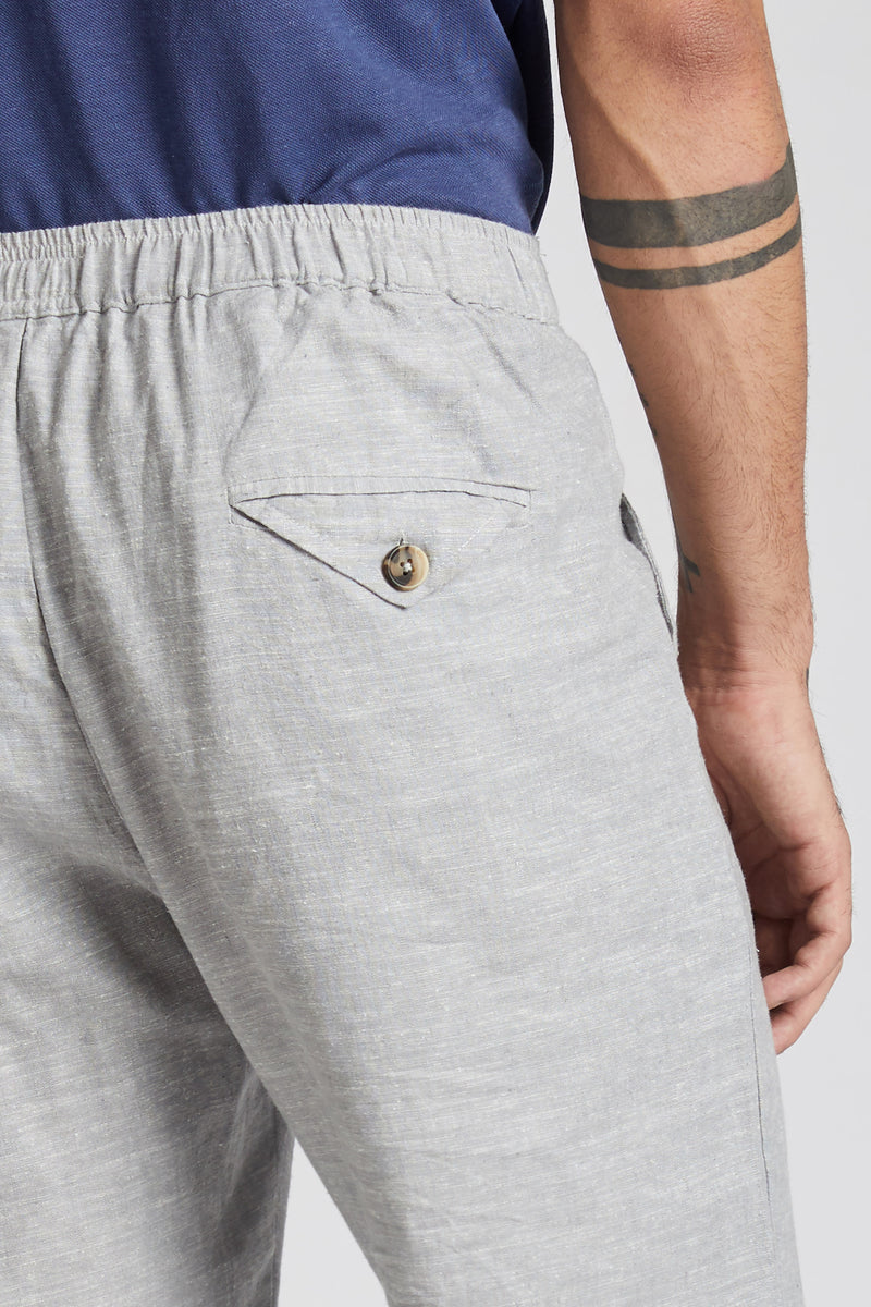 Beacon Casual Pants - Grey Melange