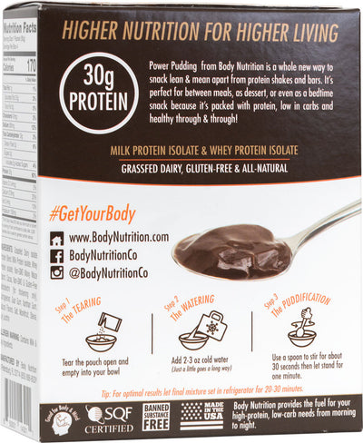 Power Pudding NATURALS: All-Natural Instant Protein Pudding Mix