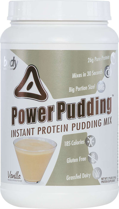 Power Pudding: Instant Protein Pudding - Vanilla - 2.75lb (25 Servings)