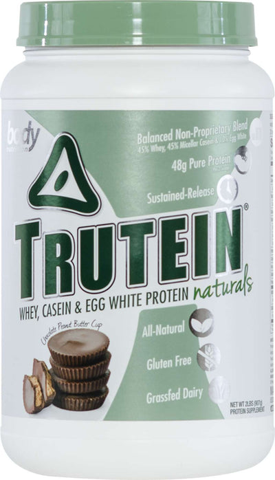 Trutein NATURALS: The Original Trutein Made All-Natural! - Chocolate Peanut Butter Cup - 2lb (27 Servings)