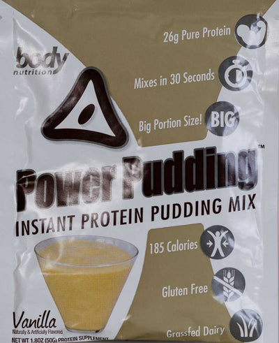 Power Pudding: Instant Protein Pudding