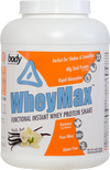 WheyMax: Functional Instant Whey Protein Shake - Vanilla - 5lb (69 Servings)
