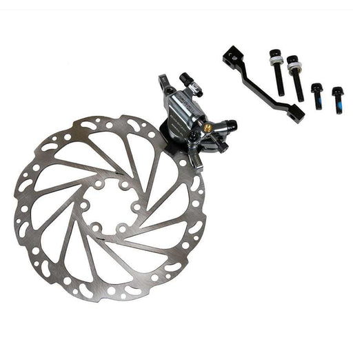 Eclypse, ERX-2 Combi System, Cable actuated hydraulic road disc brake, Pair, 160mm