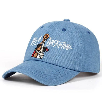 Love & Basketball Dad Hat - sky blue - Dad Hats