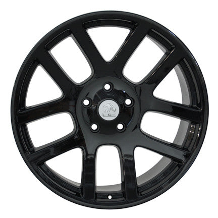 Dodge Srt Set De Rines Negros 22x10 5/139.7