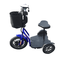 RMB Protean Folding 3-Wheel Trike Mobility Scooter - from DT Scooters