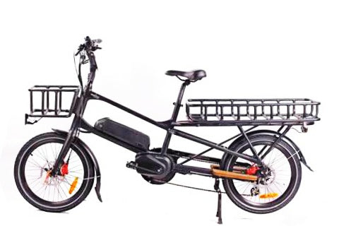GreenBike Cargo Electric Bike - from DT Scooters - from DT Scooters