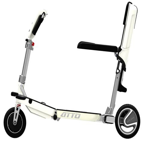 Moving Life Atto Folding 3-Wheel Mobility Scooter - from DT Scooters - from DT Scooters