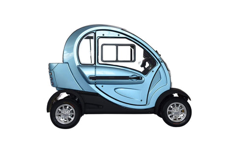 Green Transporter QPod Electric Transport - from DT Scooters - from DT Scooters