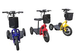 RMB Protean Folding 3-Wheel Trike Mobility Scooter - from DT Scooters - from DT Scooters