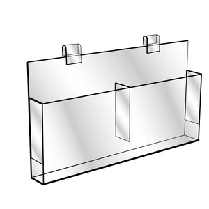Gridwall Brochure Holder- Double