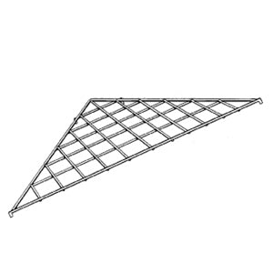 Triangle Grid Shelf