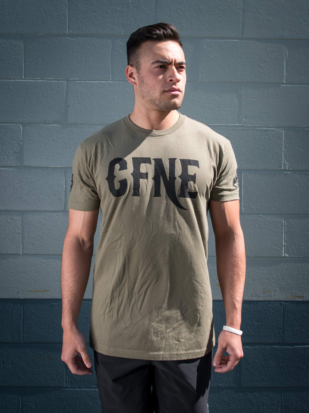 CFNE Men's T-Shirt - Military Green