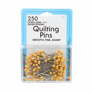 PINS Quilting Yellow Head Pin Size 28 1-3/4in 250ct