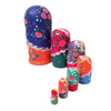 Charming Lady Matryoshka Nesting Dolls 7 Pieces