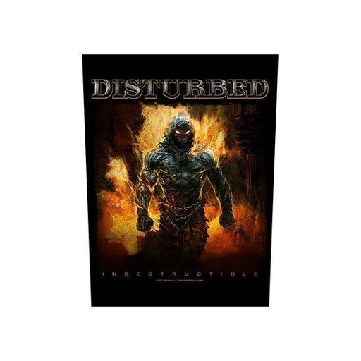 Back Patch - Disturbed -  Industructible