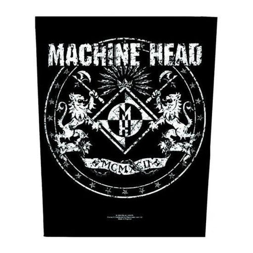 Back Patch - Machine Head -  Crest