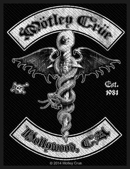 Patch - Motley Crue - Hollywood