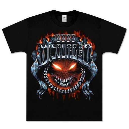 T-Shirt - Disturbed - Chrome Smiley