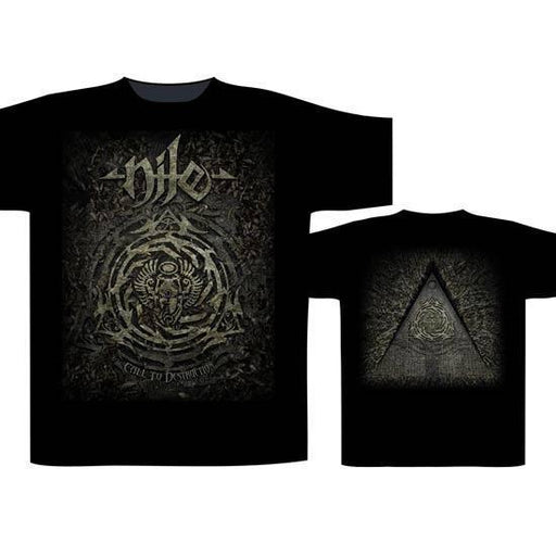 T-Shirt - Nile - Call to Destruction