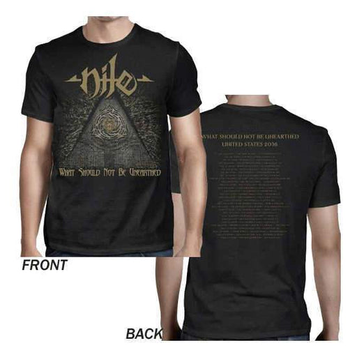 T-Shirt - Nile - Unearthed 2016 Dates