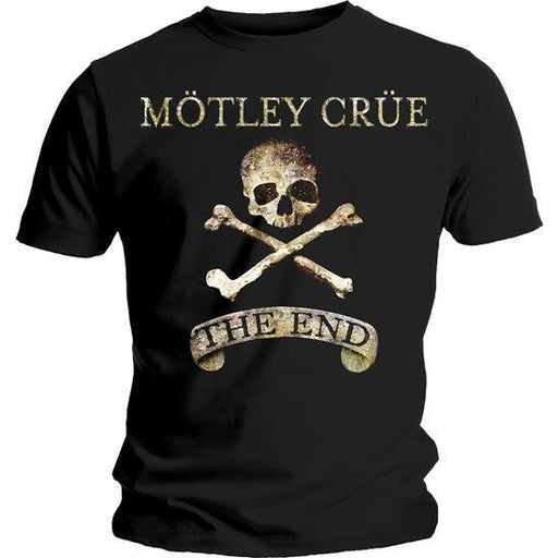 T-Shirt - Motley Crue - The End